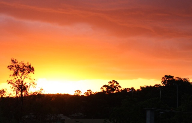 Brisbane's jaw-dropping sunset renders one speechless.