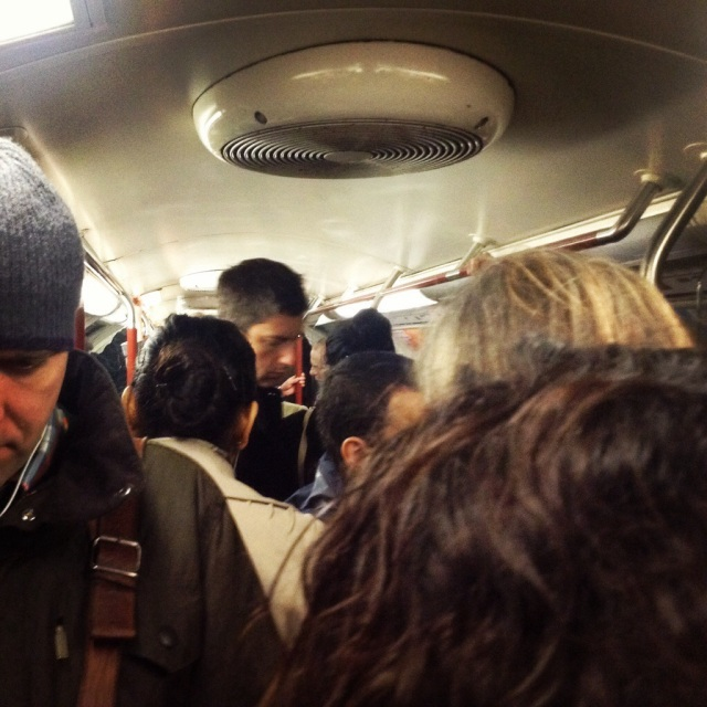 Travelling on the London underground can make one feel like sardine, packed in tight.