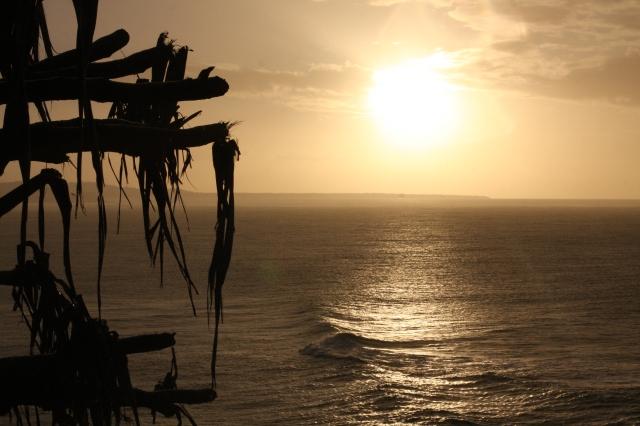 Calmness pervades Stradbroke Island, Australia as nightfall looms.©